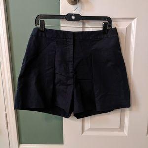 Black Pleated Michael Kors Shorts